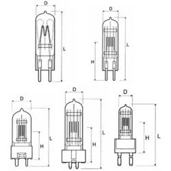 Лампа КГМ 6-30 (цоколь - G4 )