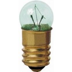 Лампа накаливания МН 6,3-0,3 миниатюрная с цоколем Е10