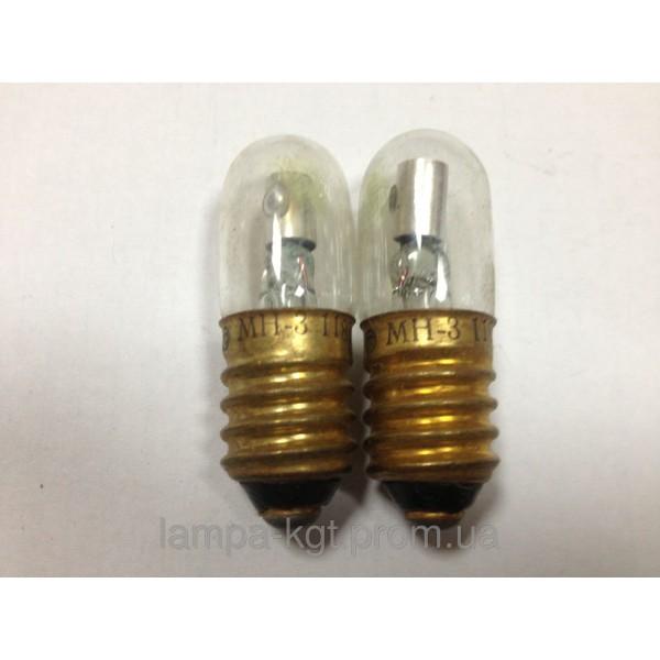 Лампа неоновая МН-3, мн3 с резьбойЛампа неоновая МН-3, мн3 с резьбой33,88