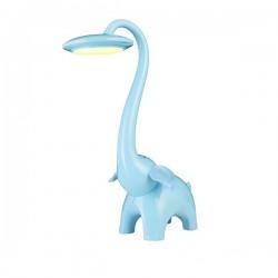 Детская настольная LED лампа LEDEX голубой СЛОН LX-102928